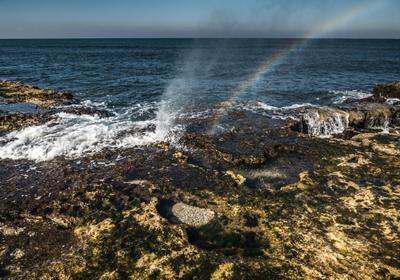 Радуга море радуга красота
