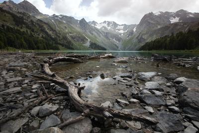 Верхнее Мультинское Озеро природа горы пейзаж озеро