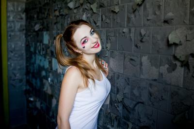 Образ Harley Quinn Необычный образ