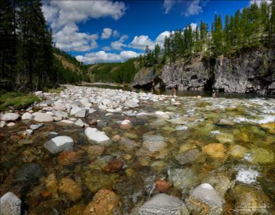 Река Калар, Прижим Щучья пасть Калар
