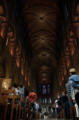 Notre Dame de Paris Notre Dame de Paris интерьер богослужение
