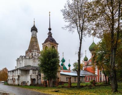 *** Переславль-Залесский церкви храмы осень