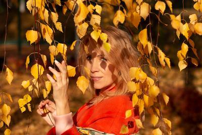 осень осень лето солнце крастота портрет