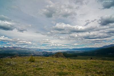 Небо Алтая Алтай скалы путешествие поход небо
