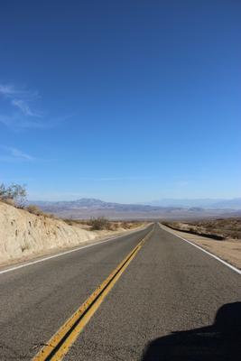 Дорога в Долине смерти путешествия дорога америка сша долина смерти