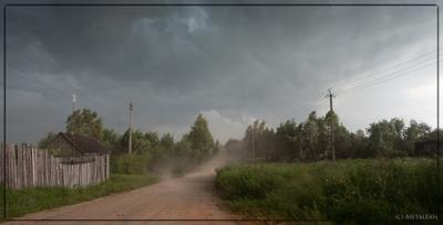 Буря! Скоро грянет буря! природа перед бурей