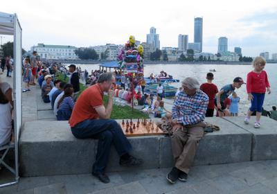 Всё спокойно Екатеринбург набережная игроки