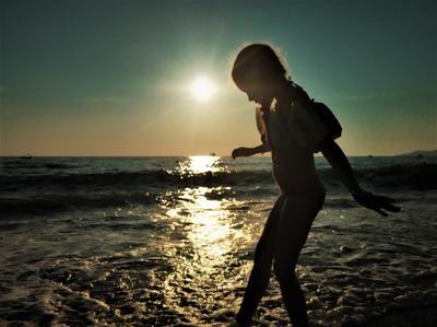 девочка и море девочка и море
