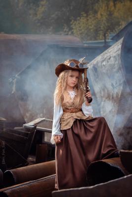 Разбойница Стимпанк steampunk дети разбойник