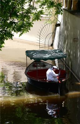 перерыв прага лодка