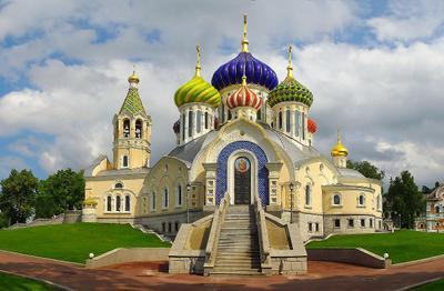 *** Переделкино собор Игоря Черниговского