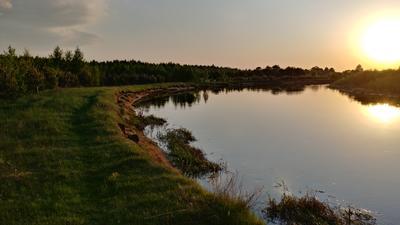 *** Река закат