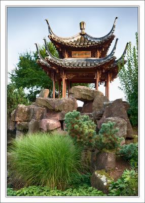 Chinagarten - китайский сад в Штутгарте