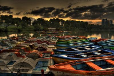 Лодки на отдыхе