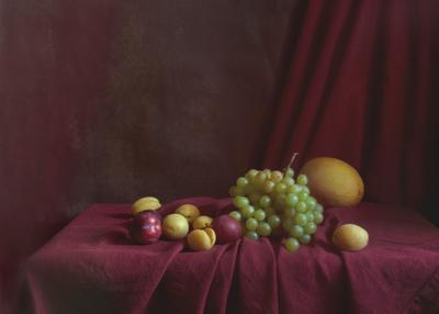 *** натюрморт фрукты лето