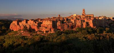 Питильяно Италия Тоскана питильяно евреи туф средневековье Italy Tuscany Pitigliano Jews tuff the Middle Ages