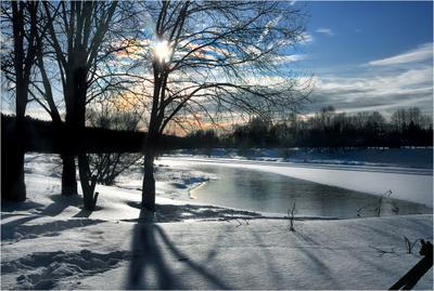 Клонится к закату зимний день… зима прогулка друзья с ФС река Москва фотосессия