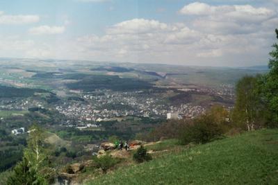 Вид на Кисловодск Город Кисловодск пейзаж горы