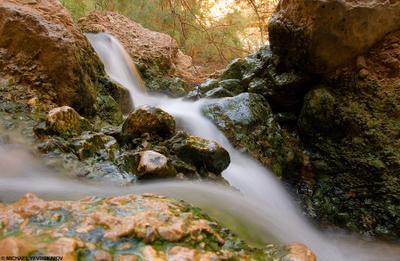 Смысл (из серии Израильские зарисовки) Израиль, Israel, Ein Bokek, Эйн Бокек, водопад, waterfall