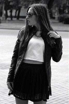 *** фотосет прогулка вднх модель очки юбка девушка