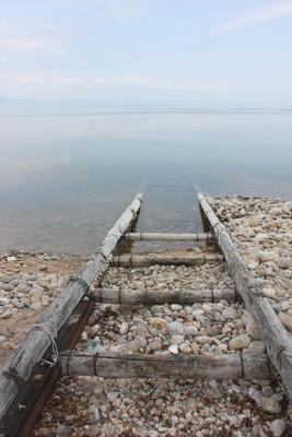 Лестница в небо озеро Байкал небо