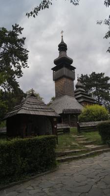 Старинная церковь. Ужгород