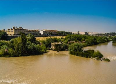 Река Гвадалквивир, Испания (15.06.2005)