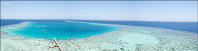 Sanganeb маяк, пирс, море, риф, Судан