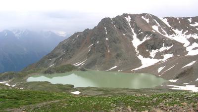 Горное озеро горы, горное озеро