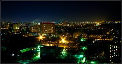 Вечер Сибирской столицы.