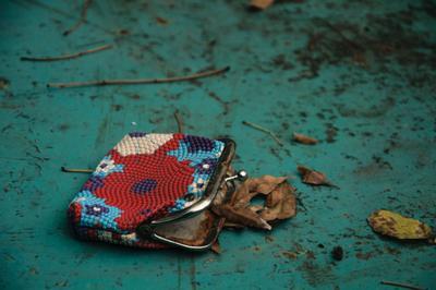 Кошелёк теннисный стол осень кошелёк