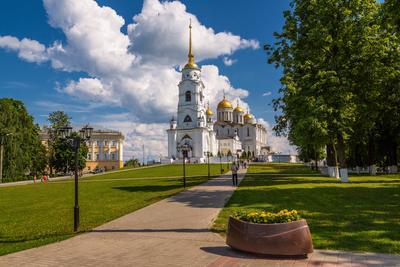 *** Владимир церковь храм христианство зодчество архитектура туризм