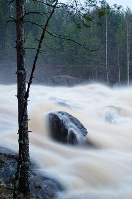 *** Гирвас водопад водосброс Карелия