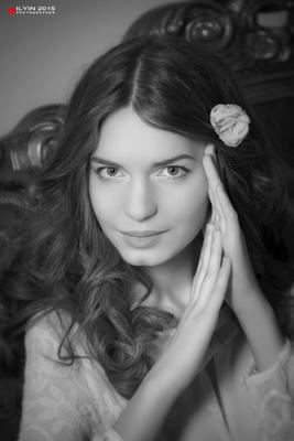 Полина Ильин Гламур Портрет Фотосессия ANTONI