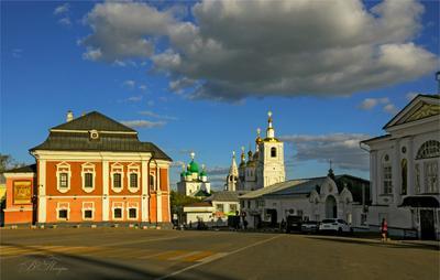 Старинная площадь Площадь церкви соборы