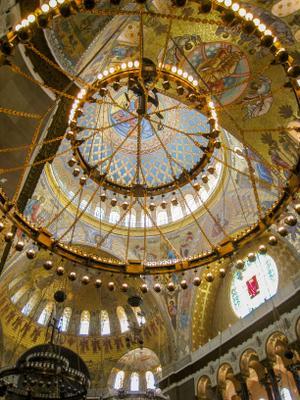 Купол Морского собора, Кронштадт собор
