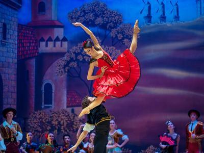 «Дон Кихот» балет танец балерина девушка красота