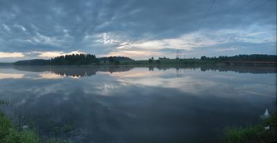 Перед рыбалкой Река Волошня