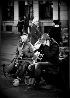 Музиканти...