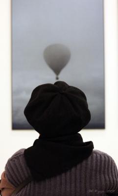 Выставка Юрия Роста... воздушный шар...