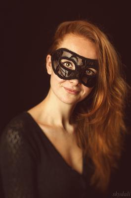 Екатерина. 2016 катя девушка рыжая красавица маска skydali