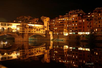 Ночная Флоренция Florence