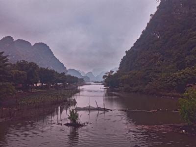 Долина Халонг (Вьетнам) Пейзаж гор