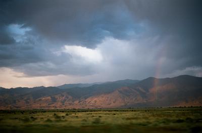 Из окна автомобиля. Аризона. Аризона Америка Гранд Каньон аналоговое фото Kodak