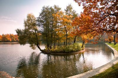 Еще один ракурс терлецких прудов терлецкие пруды, осень