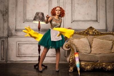 Seductive Lady's maid Seductive Lady's maid redhead girl alexandr chuprina соблазнительная леди горничная рыжая девушка александр чуприна