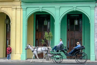 Жёлто-зелёное Куба