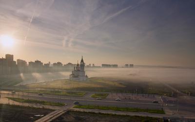 Осеннее утро*** Утро туман