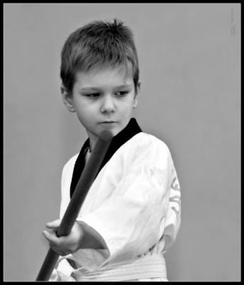 Путь воина Детский портрет дзёдо бусидо