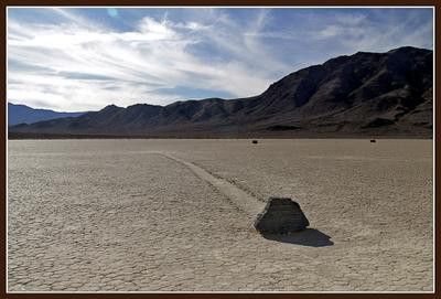 Тайное знание: ПОЧЕМУ они двигаются? ползающие камни, Долина смерти, Racetrack, Playa, Death valley